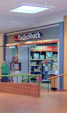 Radio Shack in the River City Mall in Keokuk, Iowa.